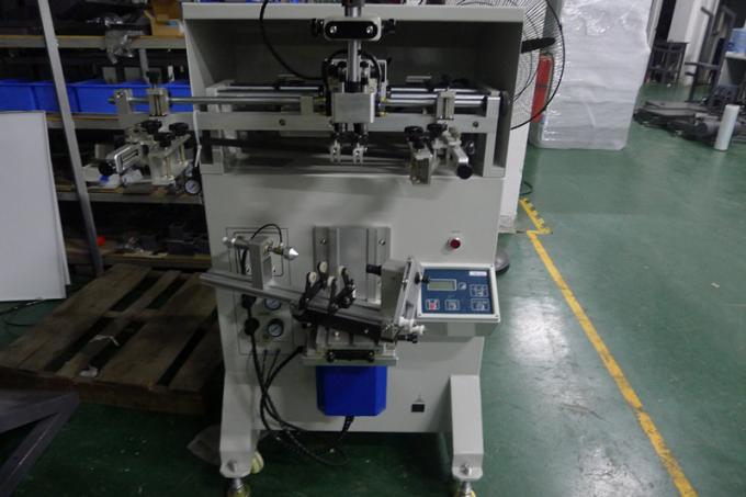 SX-2A Semi Automatic Bottle Container Tube Silk Screen Printing Machine